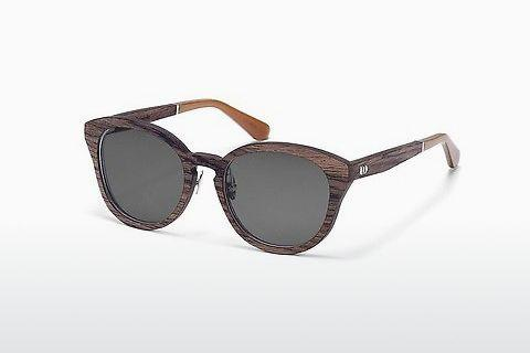 Lunettes de soleil Wood Fellas Possenhofen (10955_S walnut)