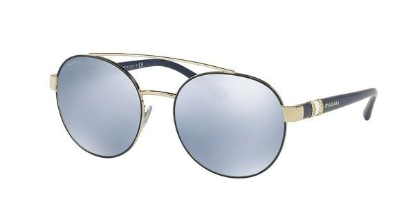 Bvlgari   BV6085B 20206J BLUE MIRROR WHITEBLUE/PALE GOLD