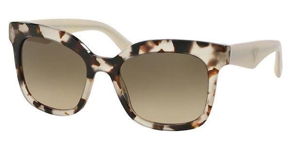 Prada   PR 24QS UAO3D0 LIGHT BROWN GRAD LIGHT GREYSPOTTED OPAL BROWN