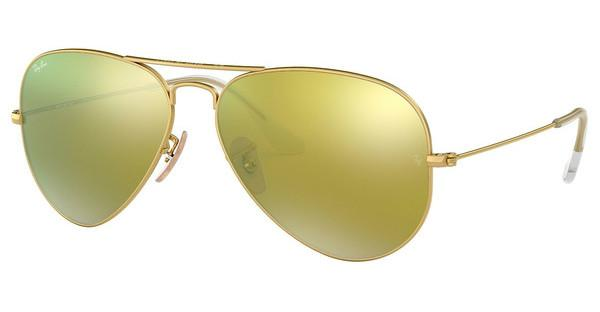 Ray-Ban   RB3025 112/93 BROWN MIRROR GOLDMATTE GOLD