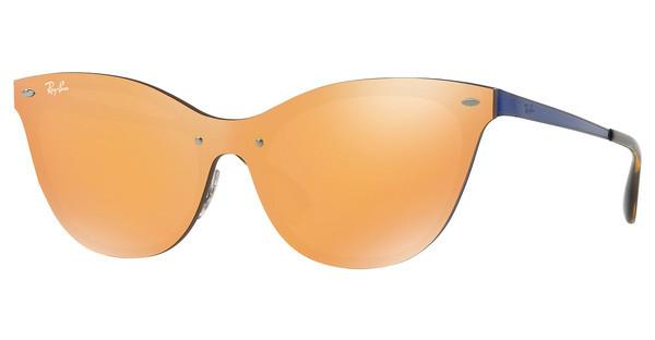 Ray-Ban   RB3580N 90377J DARK ORANGE MIRROR GOLDBRUSCHED BLUE