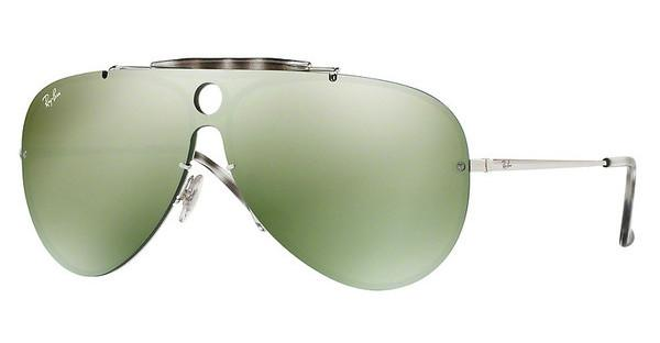 Ray-Ban   RB3581N 003/30 DARK GREEN MIRROR SILVERSILVER