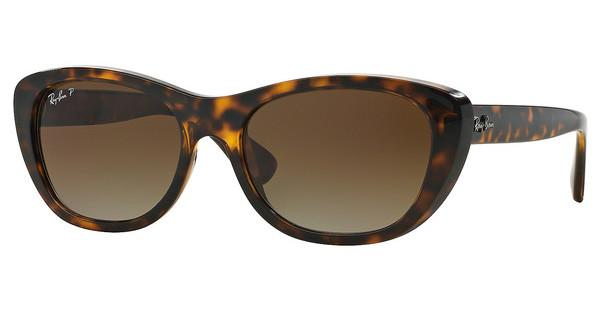 Ray-Ban   RB4227 710/T5 BROWN GRADIENT POLARLIGHT HAVANA