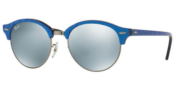 Ray-Ban   RB4246 984/30 GREEN MIRROR SILVERTOP WRINKLED BLU ON BLACK