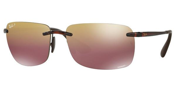 Ray-Ban   RB4255 604/6B BROWN MIRROR GOLD POLARSHINY BROWN