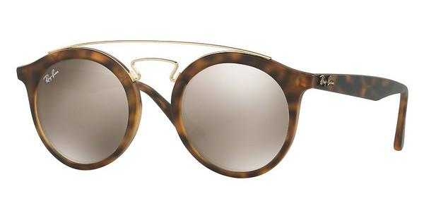 Ray-Ban   RB4256 60925A LIGHT BROWN MIRROR GOLDMATTE HAVANA