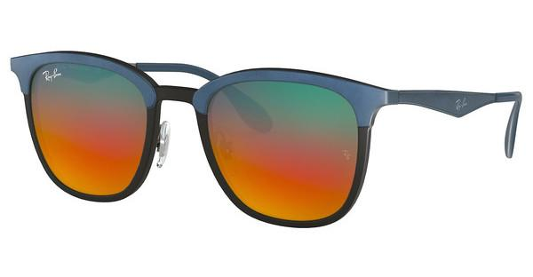 Ray-Ban   RB4278 6286A8 LIGHT BROWN MIRROR RED GRADBLACK/MATTE BLUE