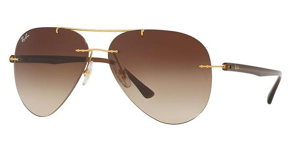 Ray-Ban   RB8058 157/13 BROWN GRADIENTBRUSHED GOLD