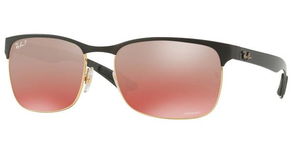 Ray-Ban   RB8319CH 9076K9 RED MIRROR GREY GRAD POLARGOLD TOP ON MATTE BLACK