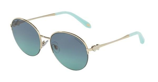 Tiffany   TF3053 60219S AZURE GRADIENT BLUEPALE GOLD