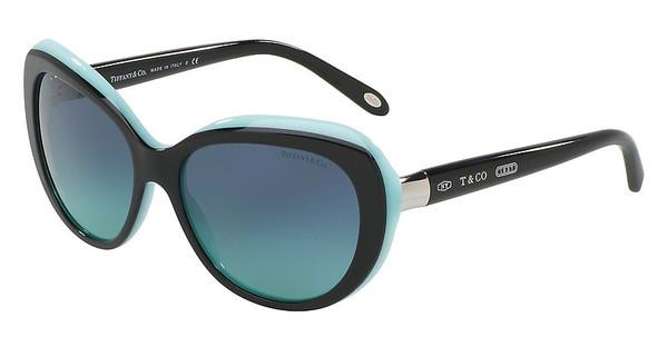 Tiffany   TF4122 80559S BLUE GRADIENTBLACK/BLUE