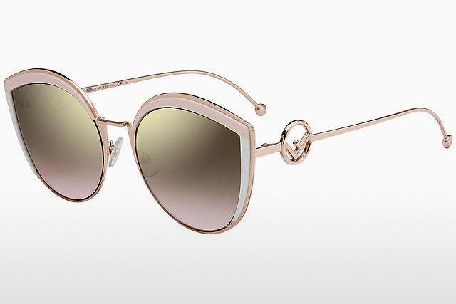 8e524fb6a7acf Acheter des lunettes de soleil Fendi en ligne à prix très bas