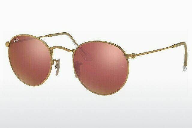 lunette de soleil ray ban femme rose gold