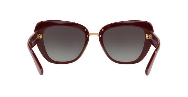Dolce and Gabbana | Red New Bordeaux Dg 4296 30918G Free 3