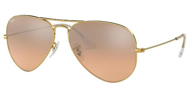 ray ban aviator femme orange
